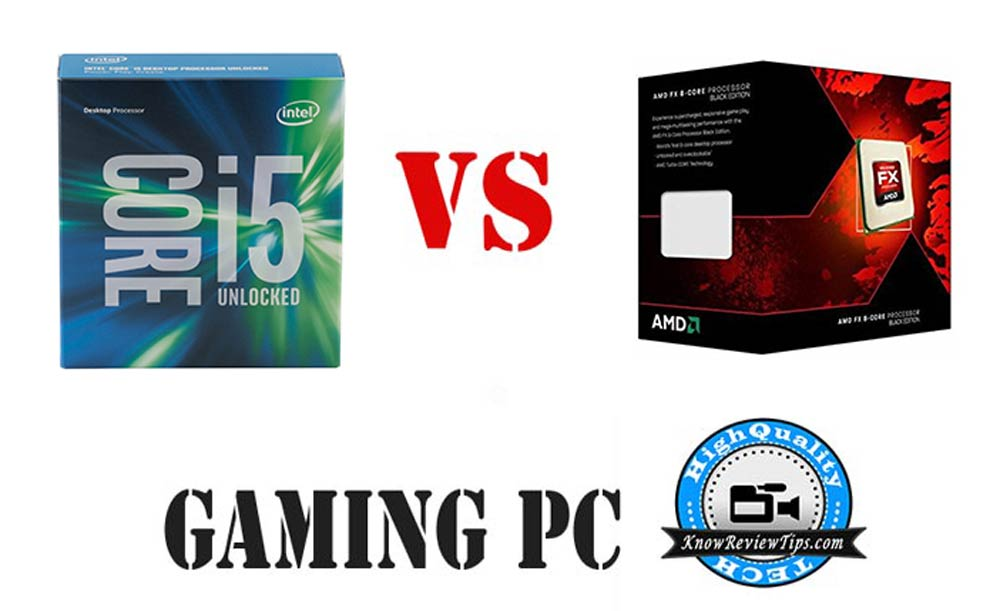 Build Best Gaming PC Intel i5 6600k AMD fx-9590 configurations
