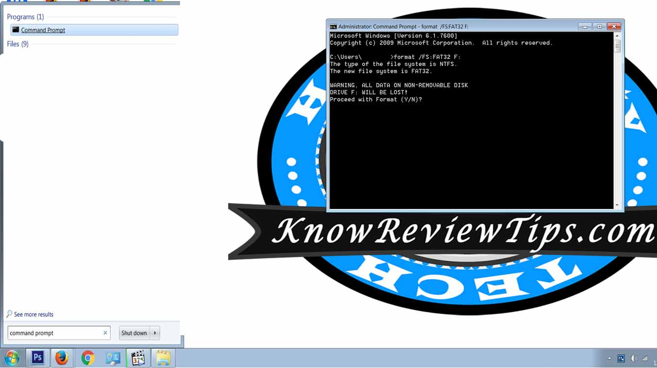 HOW To Format Hard Drive, Memory Card To FAT32 In Windows 7