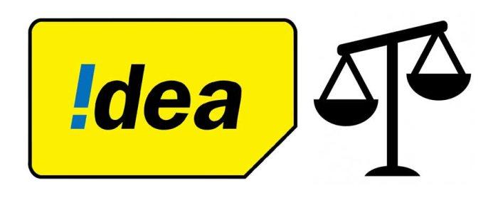 Idea Balance check for internet data