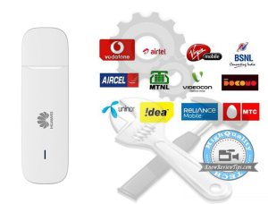 Manual Internet APN settings for USB DATA Card Modem / 3G Dongle : Idea, Vodafone, Airtel, Tata Docomo, BSNL, Aircel, Reliance, MTS