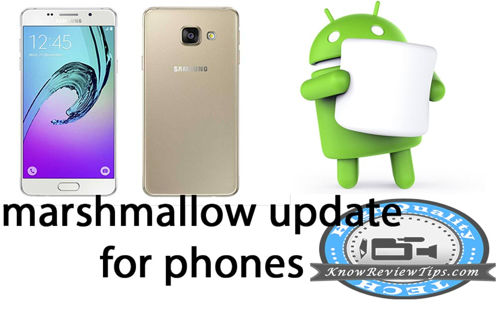 Samsung phones to get Android marshmallow update