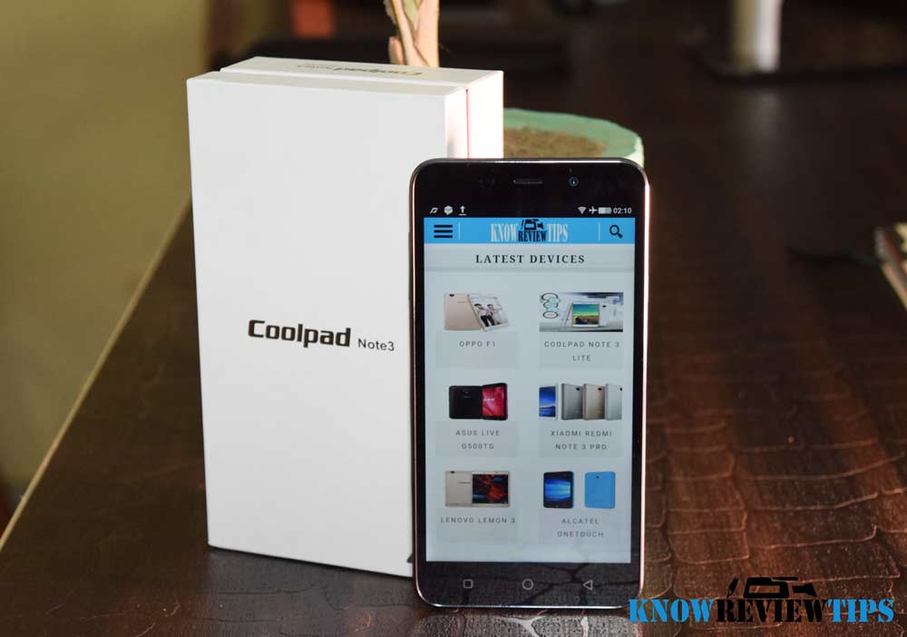 Coolpad Dazen Note 3 review and unboxing