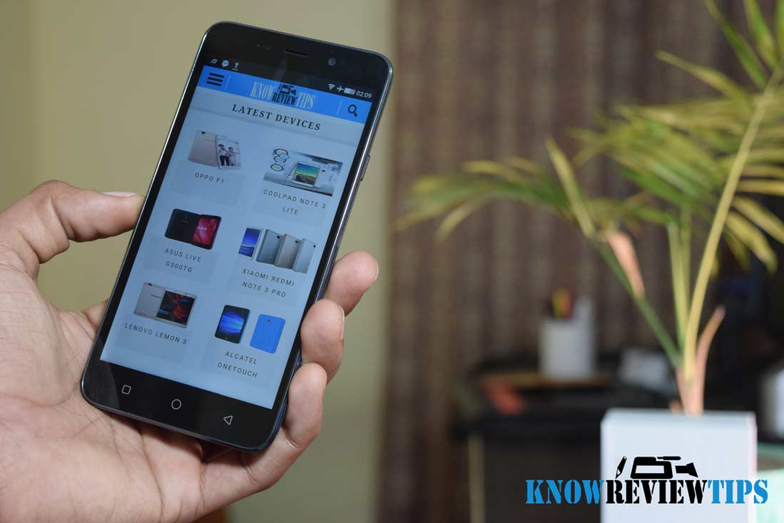 Coolpad Note 3 Display review