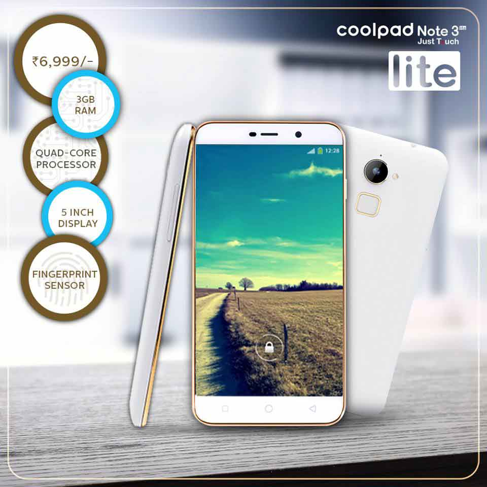 Coolpad Note 3 Lite Dazen