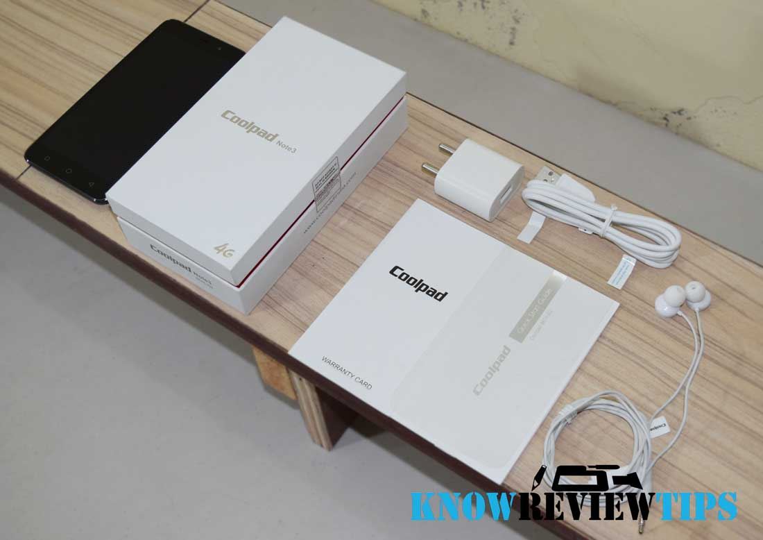 Coolpad Note 3 Unboxing Review