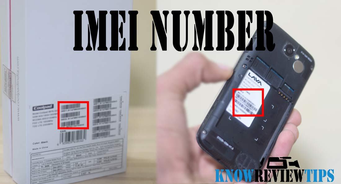 How to Find Know IMEI number in Mobile Phones using retail box