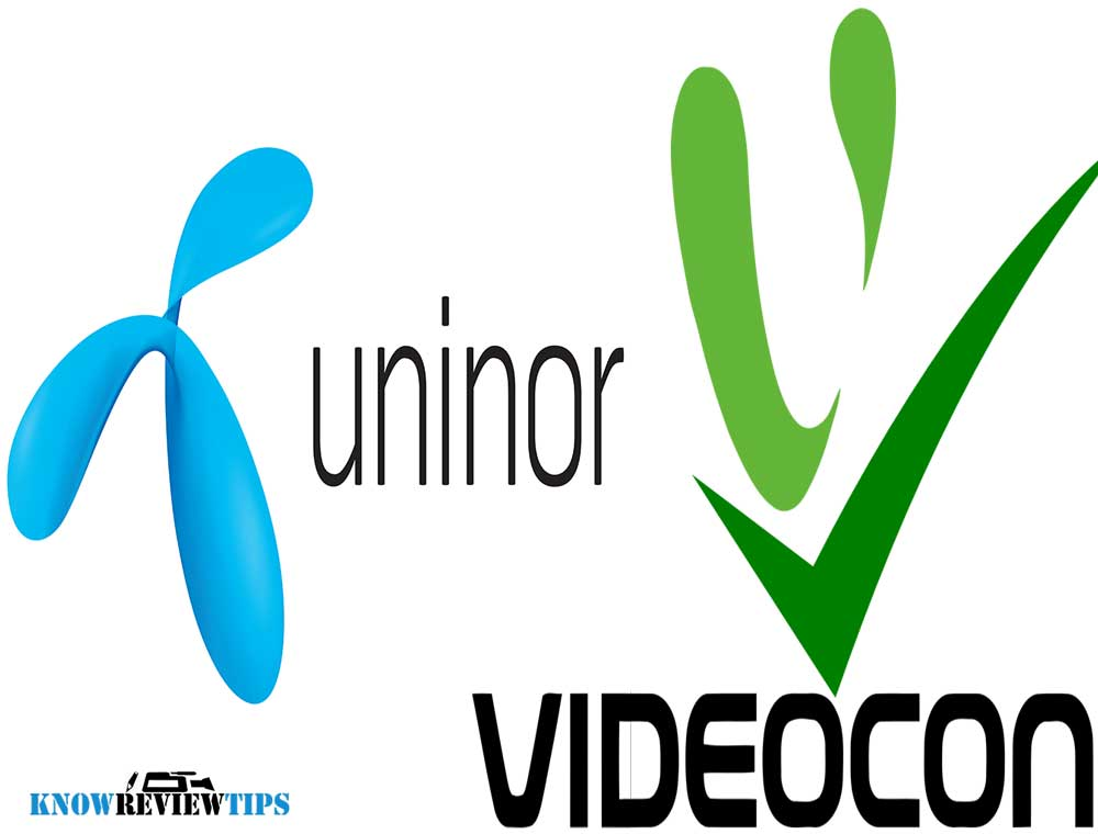 Videocon, Uninor  Telenor all USSD codes to check balance, offers, plans