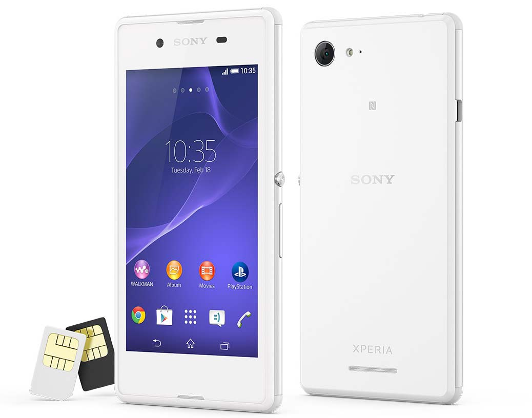 sony xperia e3 dual price in india Information