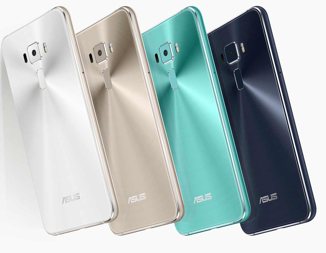 Asus Zenfone 3 ZE552KL colors