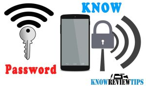 How to know WiFi Password in Android or iPhone