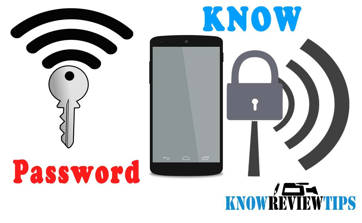 How to know WiFi-Password on Android iPhone mobile smartphone