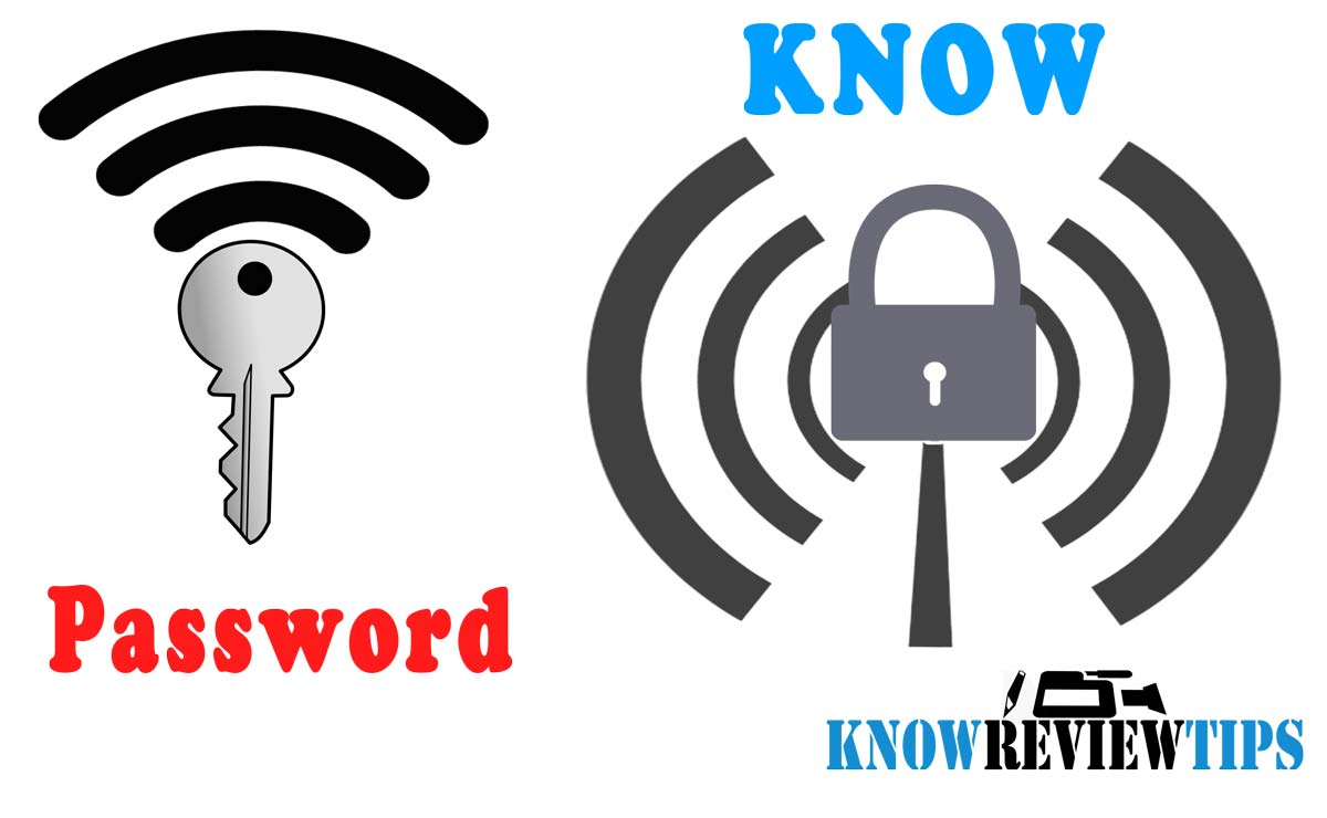 How to know WiFi Password