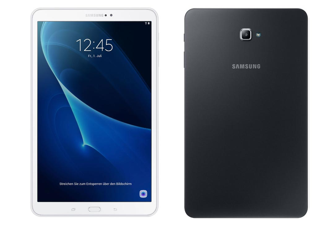 samsung galaxy tab a 10 1 2016 sm t585 price review specifications features pros cons. Black Bedroom Furniture Sets. Home Design Ideas