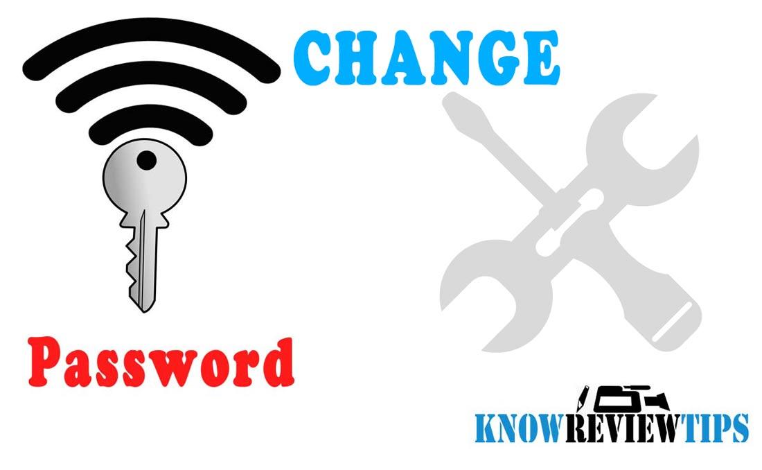 changing Wi-Fi Password