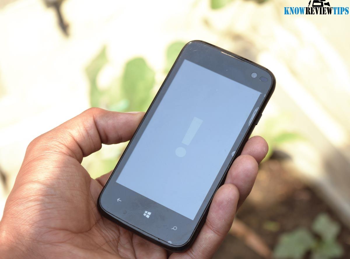 factory reset Windows Phone if Forgot