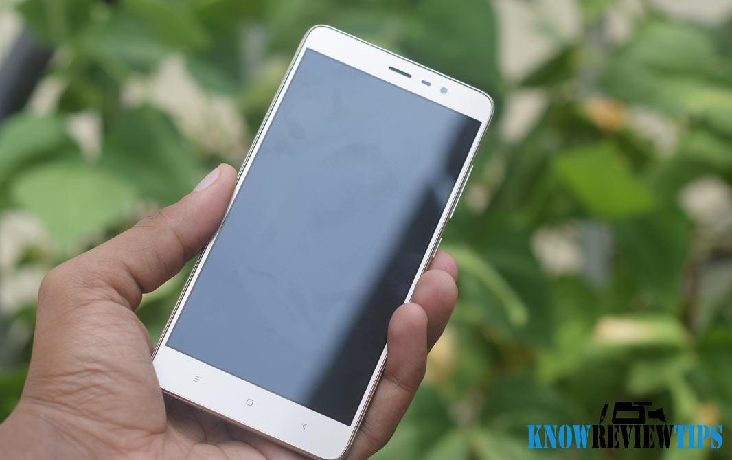 Xiaomi Redmi Note 3 Display Review Look Design Metal Body