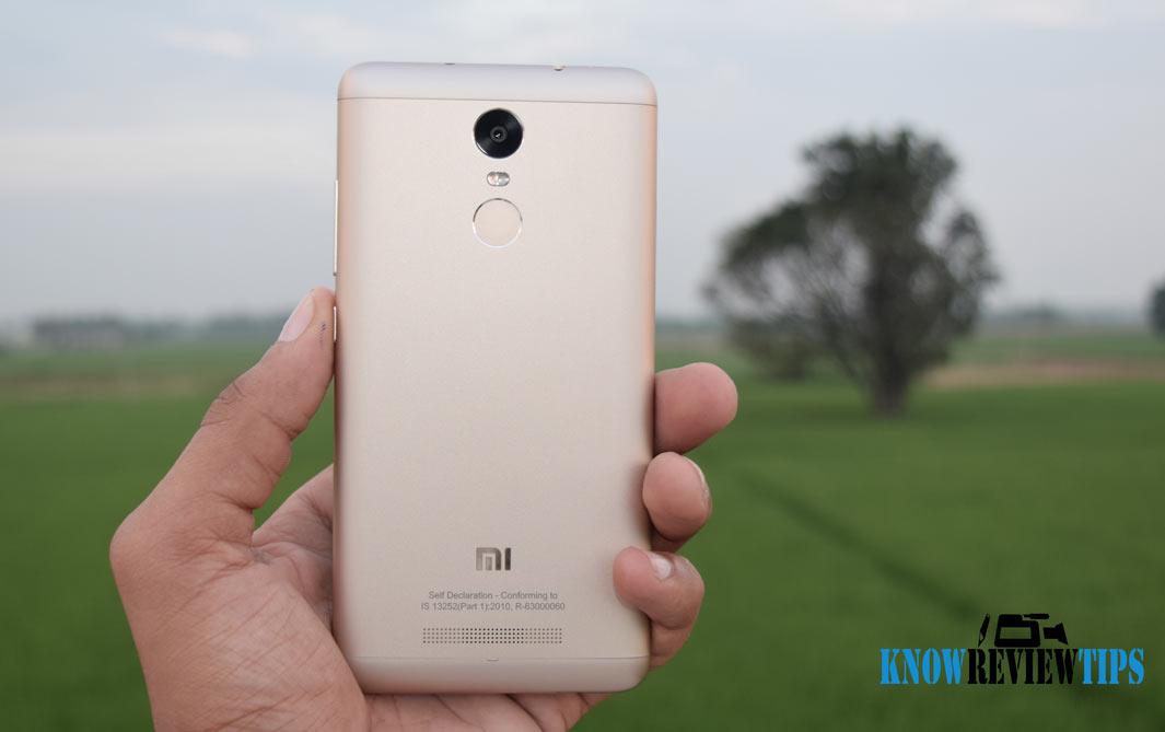 Xiaomi Redmi Note 3 Gold Review