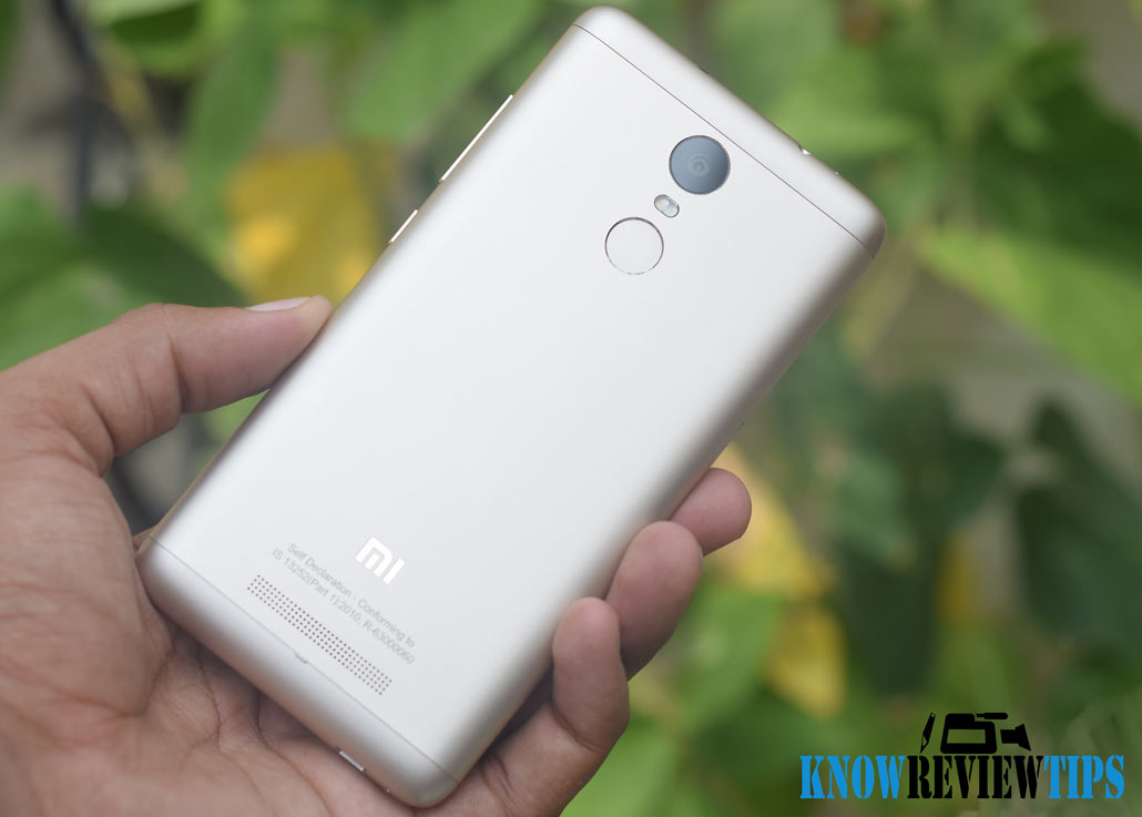 Xiaomi Redmi Note3 Metal Body Gaming Review