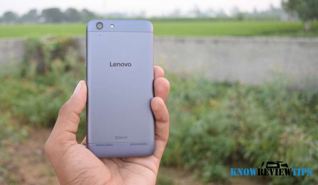 lenovo vibe k5 a6020a40 rear view silver color