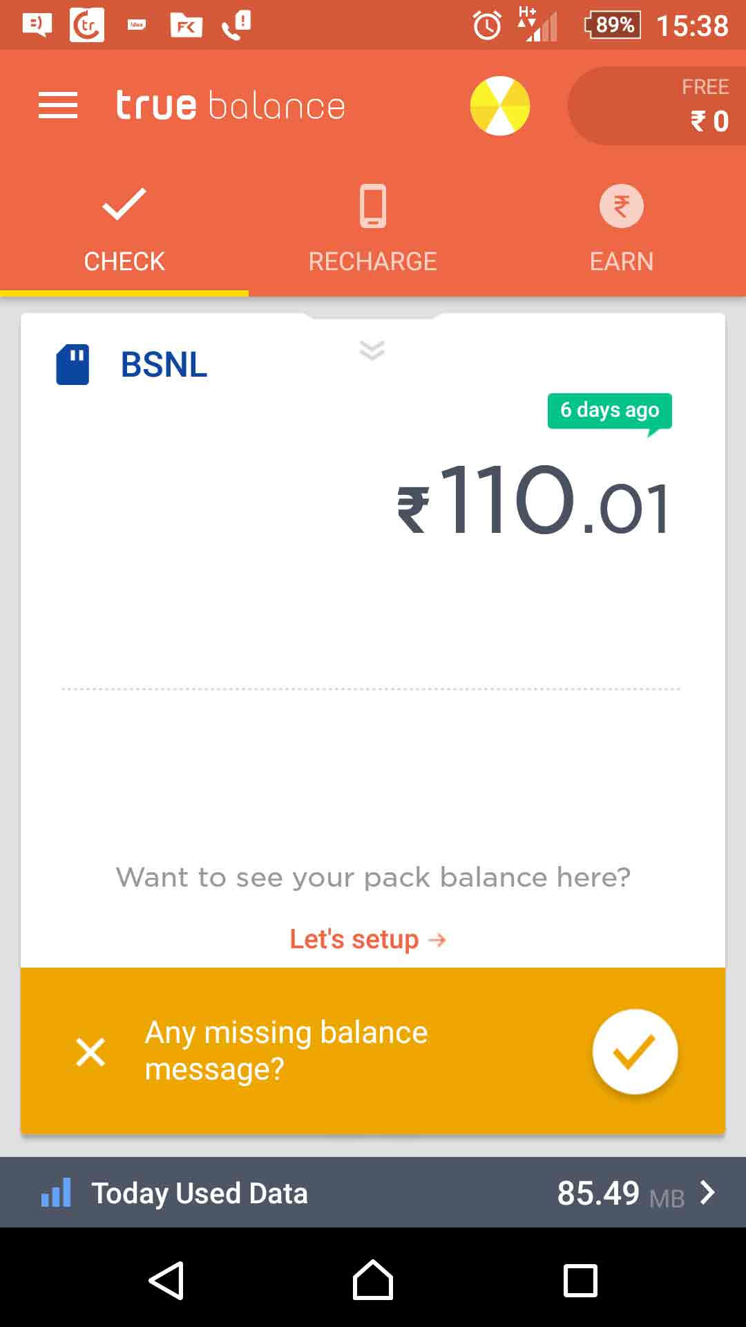 CHECK DATA BALANCE OFFERS ON Airtel, idea, Jio Vodafone, Tata Docomo, Bsnl