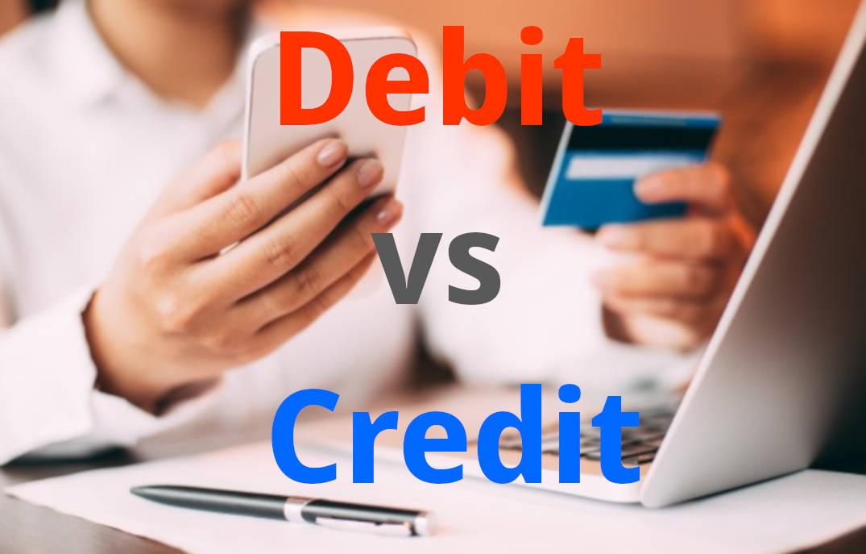 debit vs credit in accounting business finance