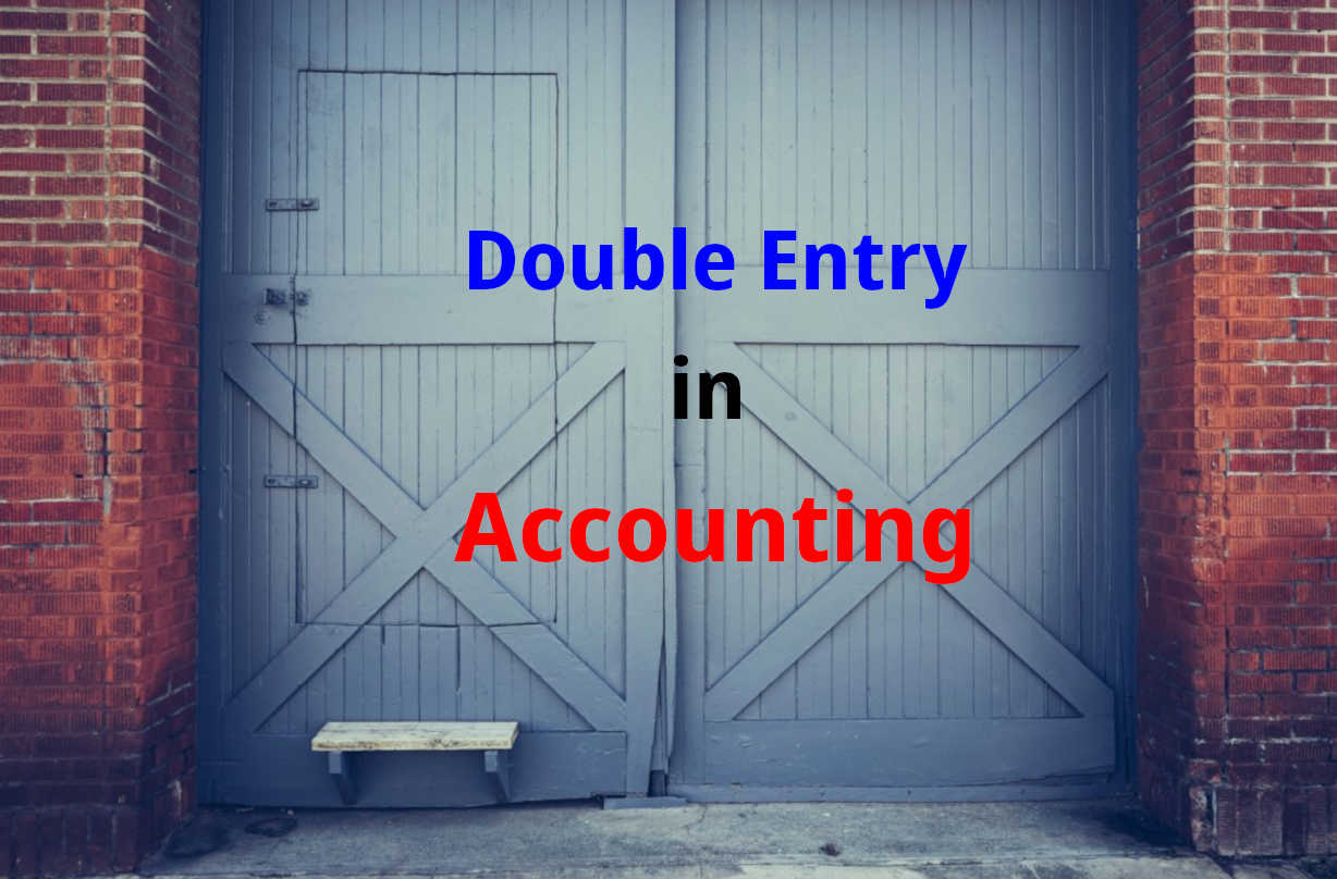 double entry book keeping in accountings