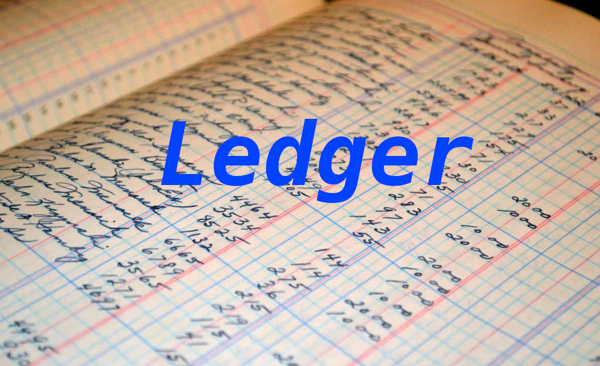 general ledger accounting business money balance financial