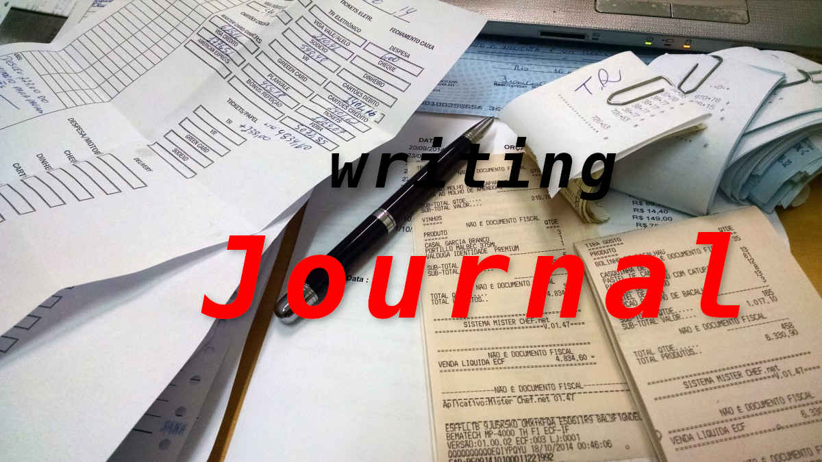 journal writing in accounting economy finance