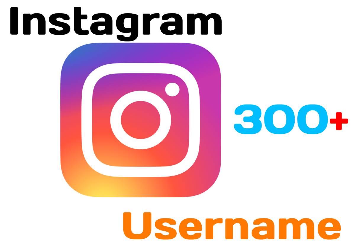 names for instagram username