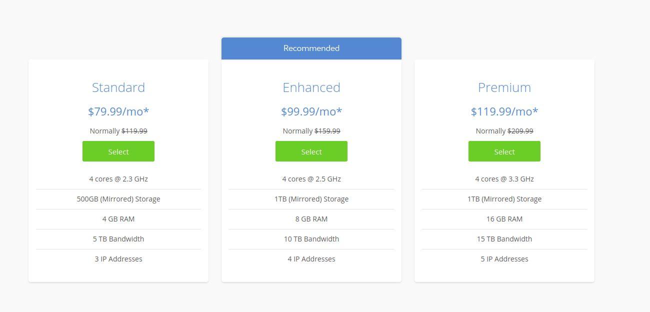 Bluehost Dedicated Web Server Hosting Services