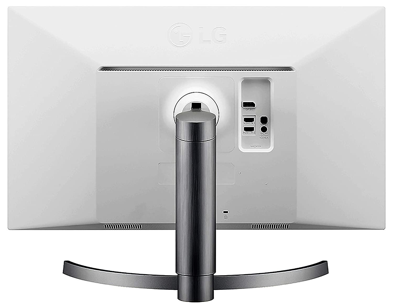 LG 27UK650-W UHD IPS LED 4K Monitor back ports